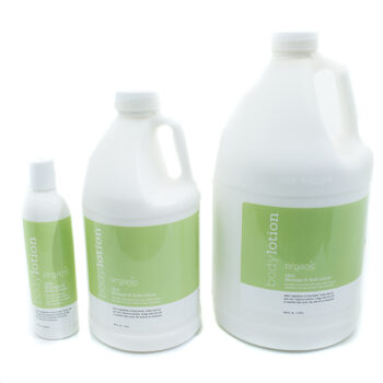 organic unscented massage lotion