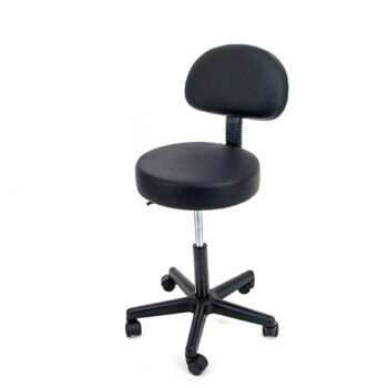 Swivel Therapy Stool with back Support