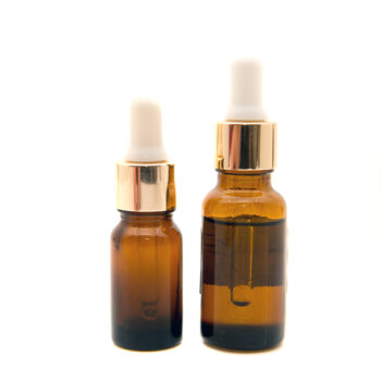 Amber Glass Dropper Bottle
