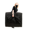 carry case with front pocket and extra strap for ergonomic portability