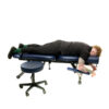 Chiropractic table solid iron frame