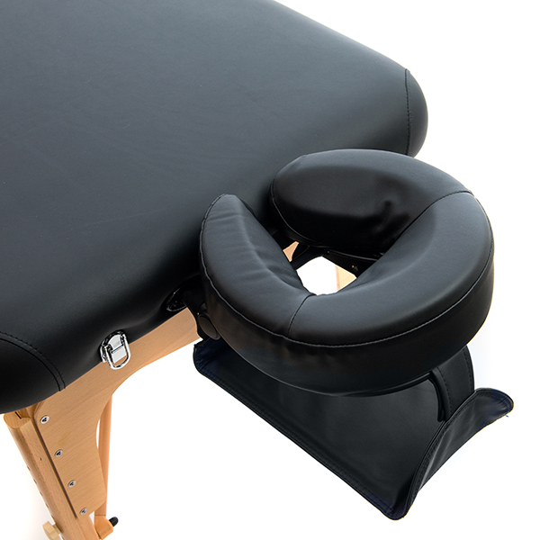Head rest and face cushion with sling arm rest below on mini dreaming